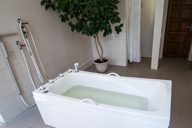 gydomosios vonios
